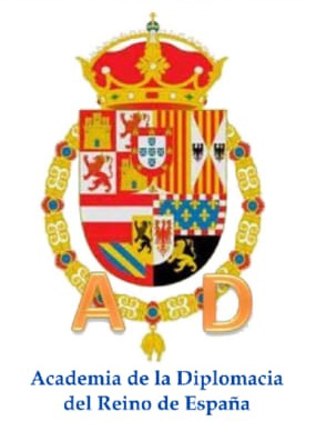 Escudo - Academia de la diplomacia del reino de España